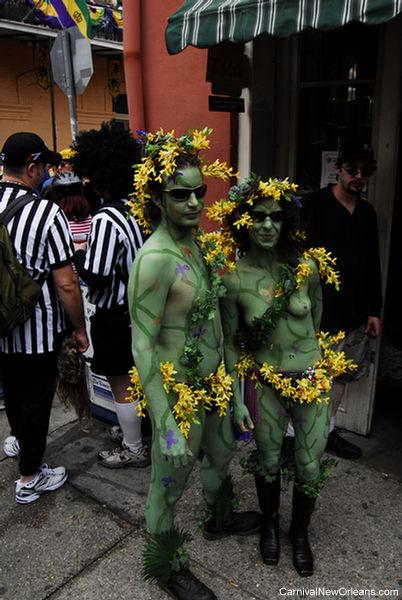 Mardi Gras Costumes - French Quarter 2007